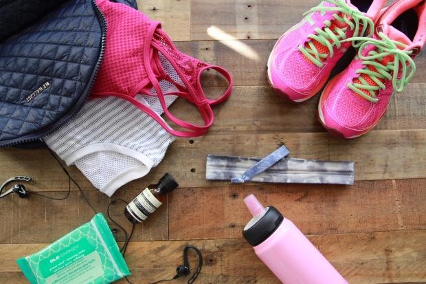 Bridal Gym Bag Essentials